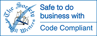 safe to do business with - code compliant from the society of will writers